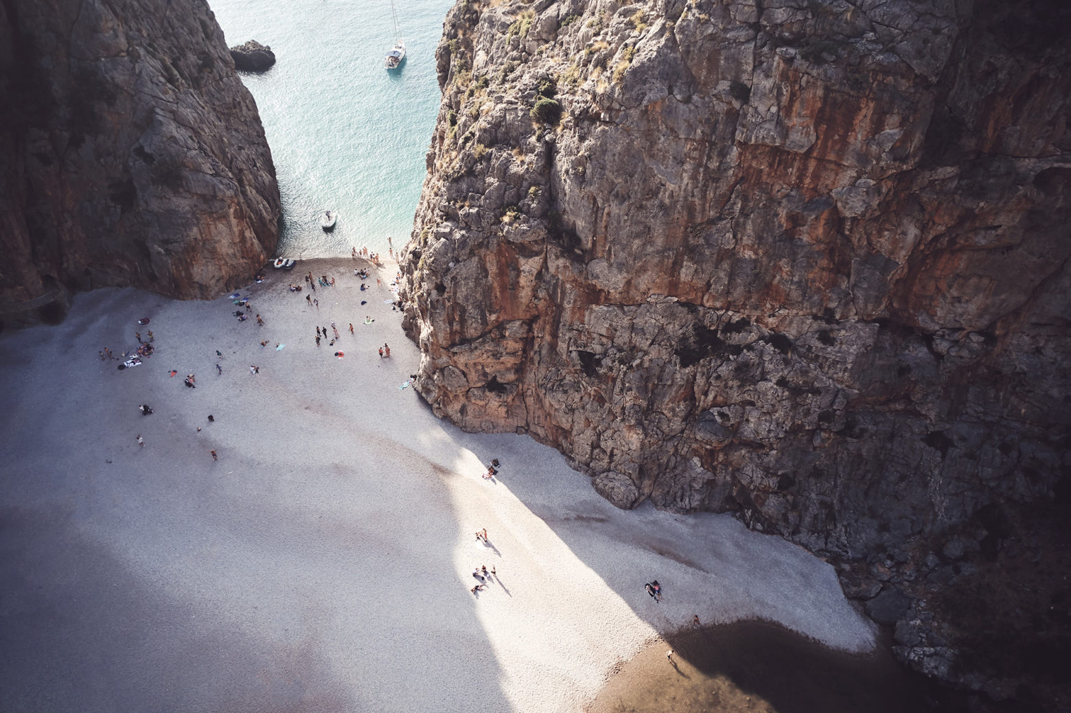 One of the coolest spots I've seen, Sa Calobra