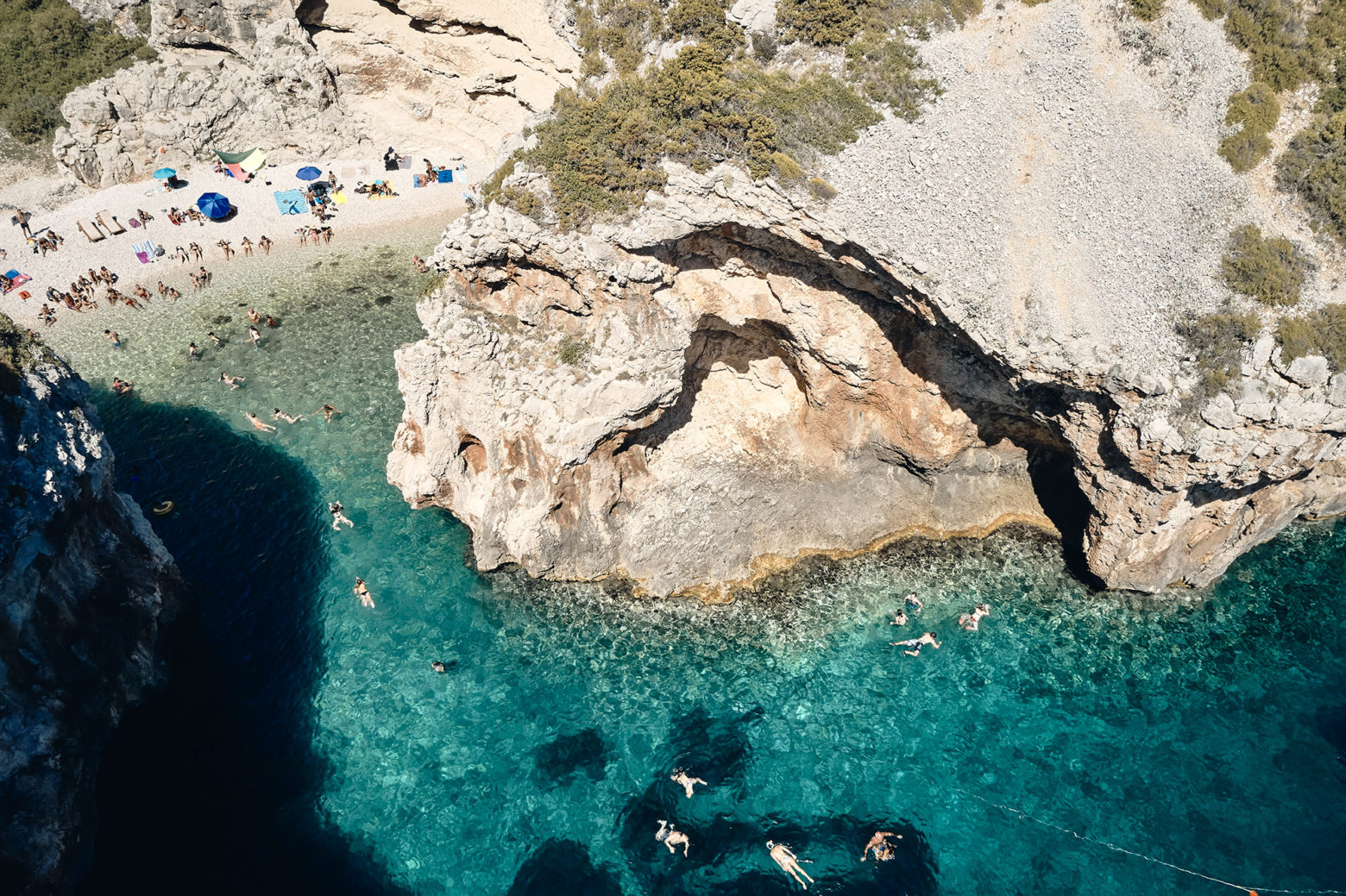 Stevinia beach from above