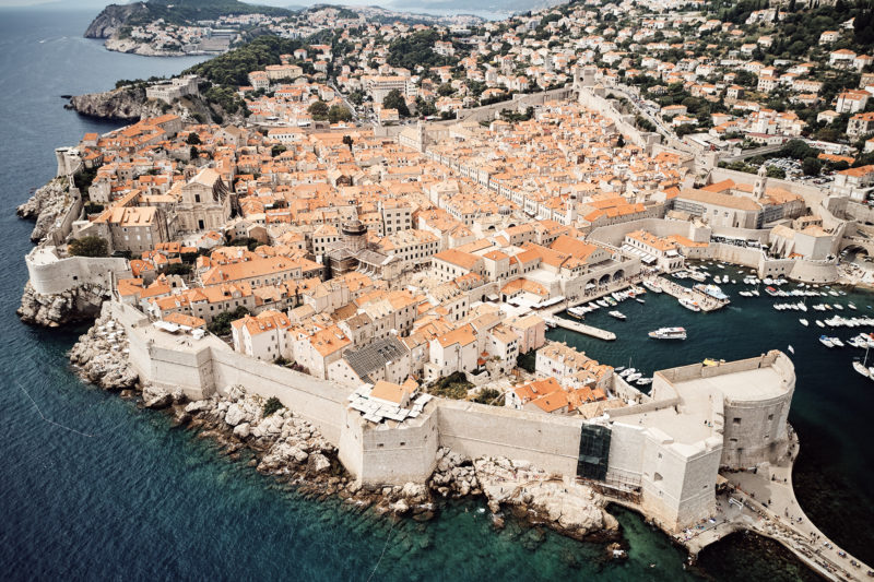 Dubrovnik - the fortified jewel of the Adriatic