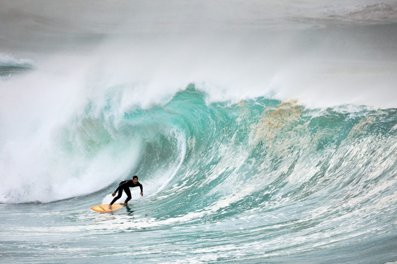 Yes, this was Bondi today