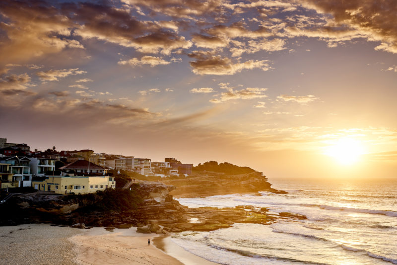 Tamarama at sunrise, 6:34am