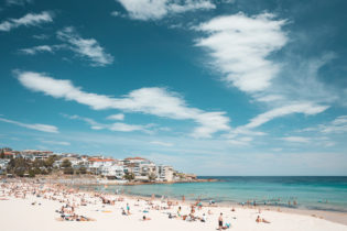 North Bondi - peak summer. Ah yes, like a lake