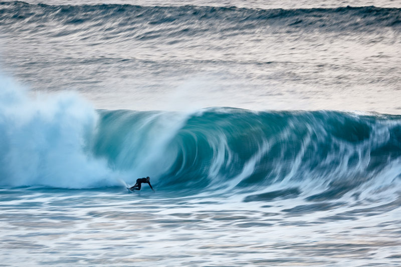 Proper bottom turn on a proper set wave. Bondi