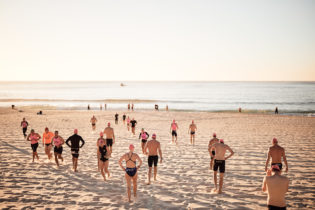 Bondi swim herd