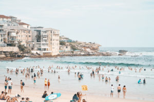 Just before the incident, North Bondi