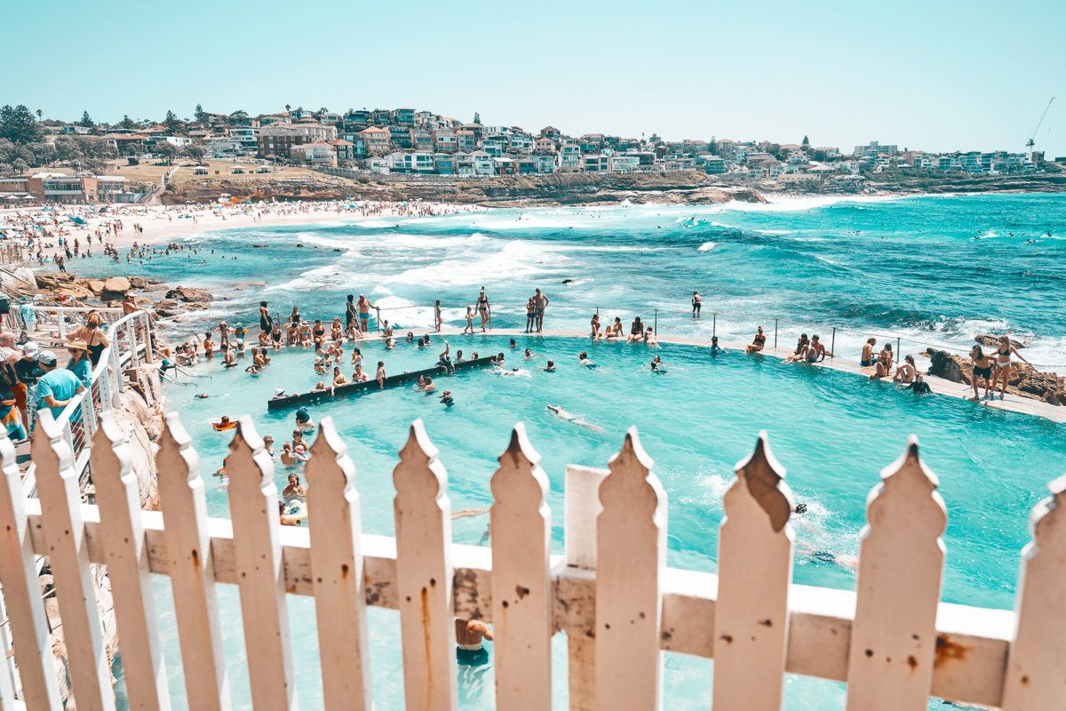 Bronte after a good pool clean in Feb