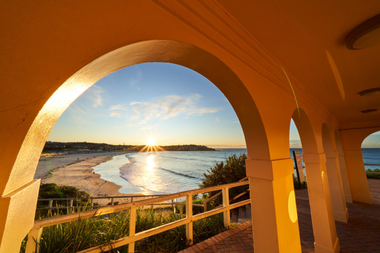 The real Golden Arches, South Bondi