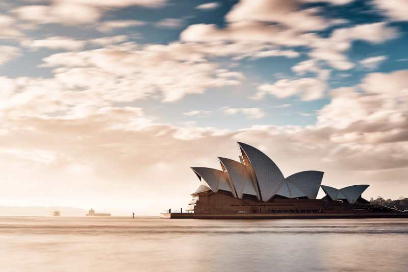A spark of light on a old subject, one of the most sensational buildings in Sydney