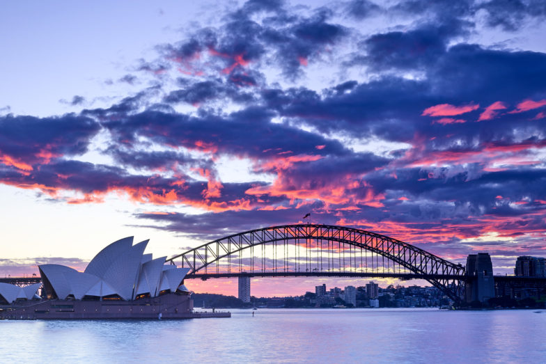 Sunset in Sydney, a couple of days ago