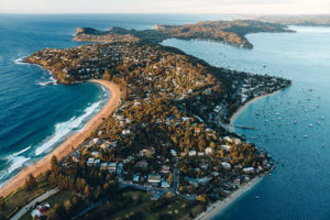 Which side today? Palmy or The Pittwater