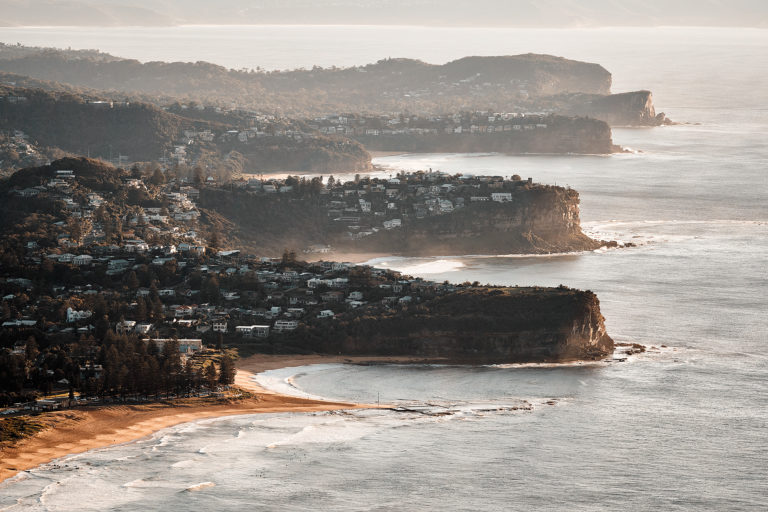 Looking north - Mona Vale to Avalon