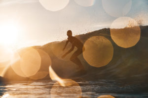 Bokeh gone mad - Surf Jasper Leslight