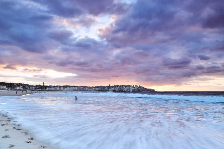 Bondi tints, 6:15am this morning