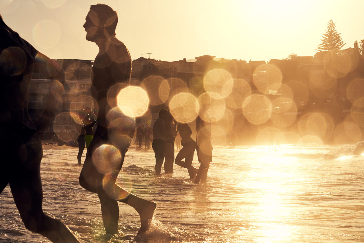 North Bondi, dripping in golds. 7am this morning
