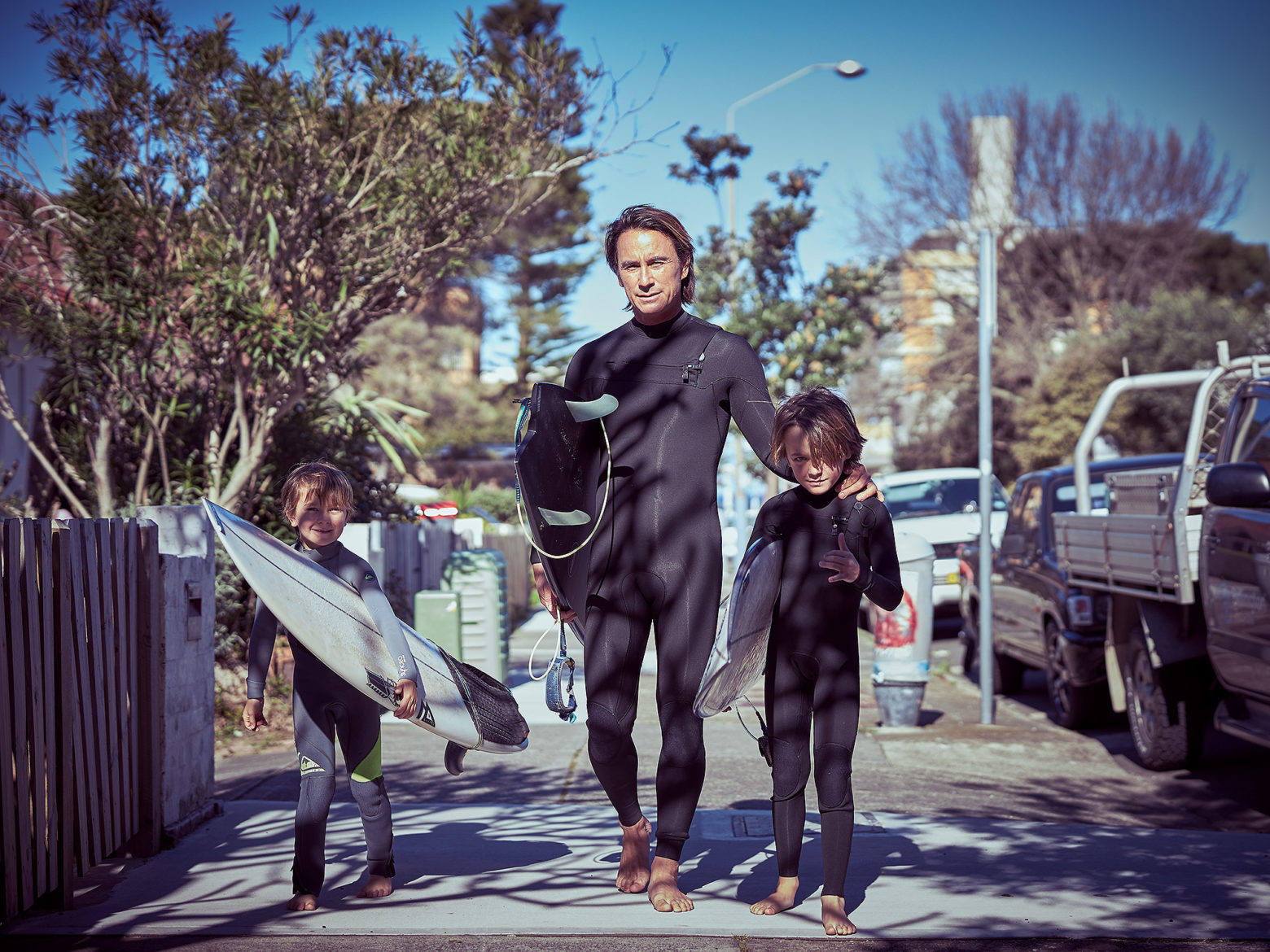 Uge and his family are surfers first, passionate about the ocean