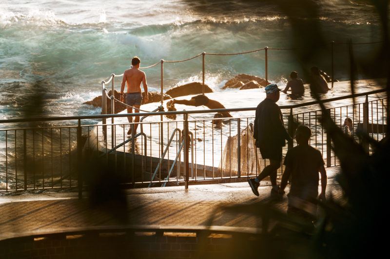 Bronte Pool, out of the southerly