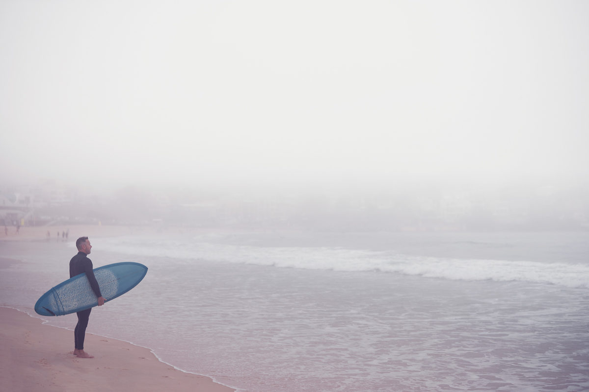 Grey times here in Bondi - all from the Northern storms