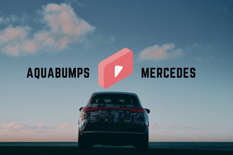 Aquabumps X Mercedes