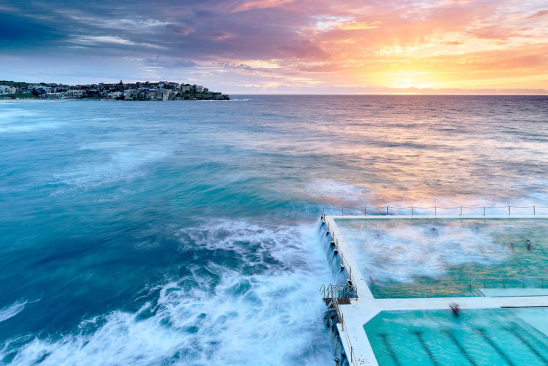 Nothing beats a swim at Bergs around this time