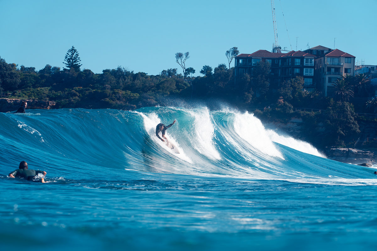 It's been a while since I've shot Pama Davies on a nice wave