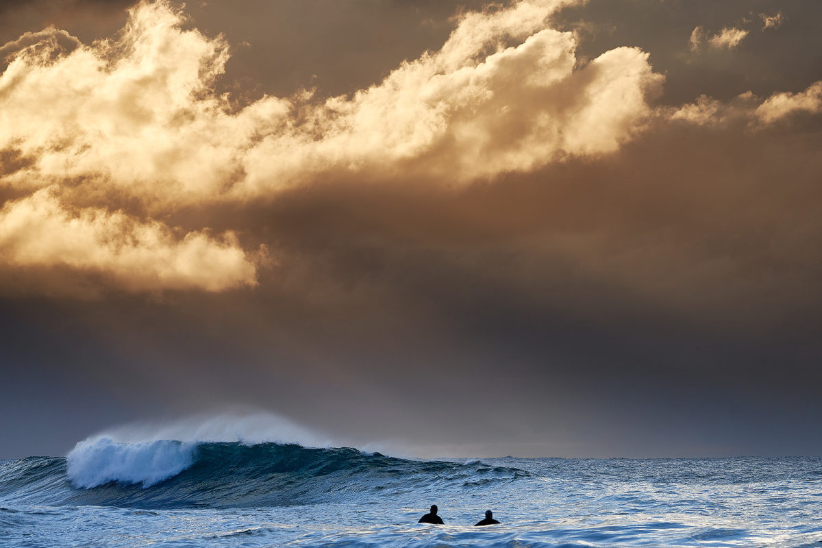 Bronte - Moments of light, this morning