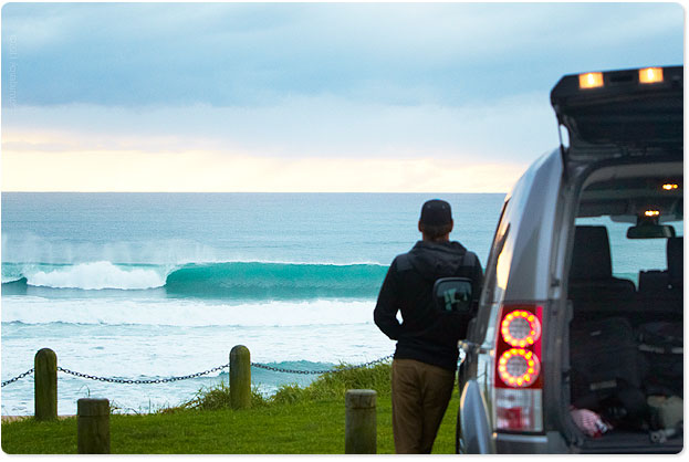 Tairua, New Zealand - 6:30am surf check