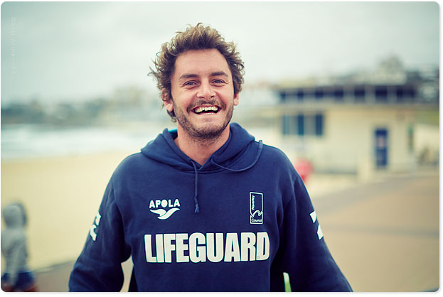 Luke Daniels, local lifeguard (now tv celeb)