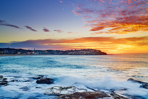 Today's sunrise at Bondi Beach...have a good weekend.