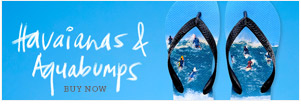 Buy Havaianas x Aquabumps thongs