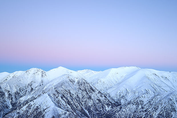 Mount Hutt Ski fields this morning...looking real good!