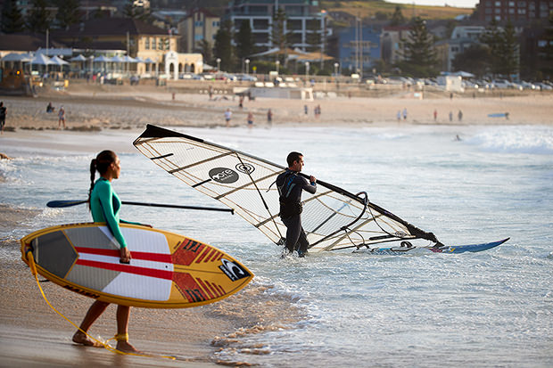 At Bondi we host all water activities these days